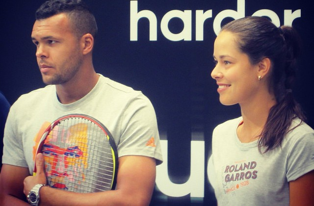 Jo Tsonga and Ana Ivanovic