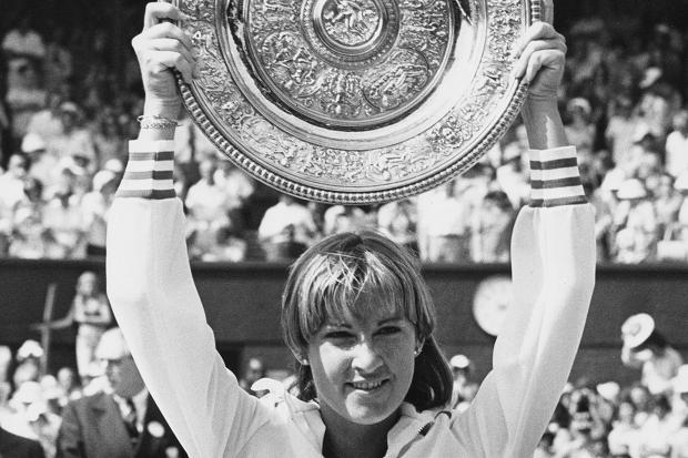 Chris Evert, Wimbledon 1976