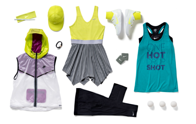 Serena Williams RG14 outfit