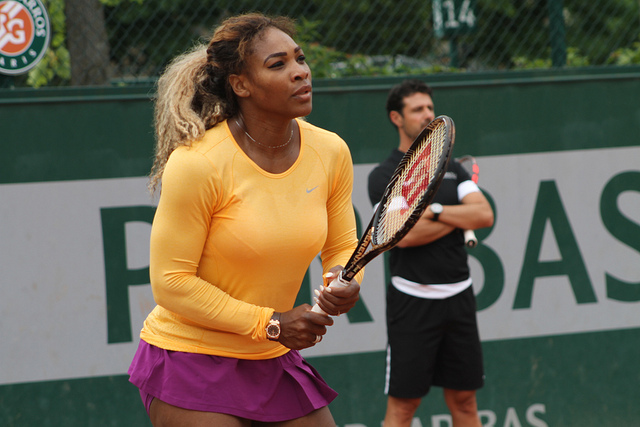 Roland Garros 2014: Serena Williams at practice