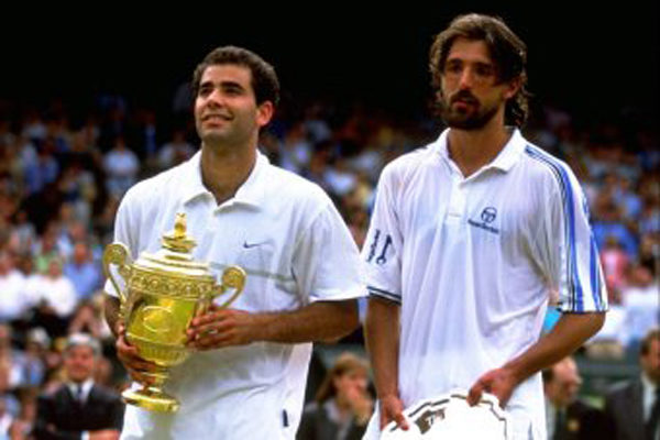 Sampras and Ivanisevic, Wimbledon 94