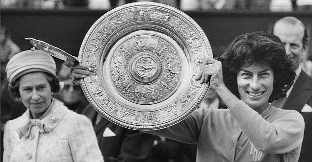 1977 Wimbledon champion Virginia Wade
