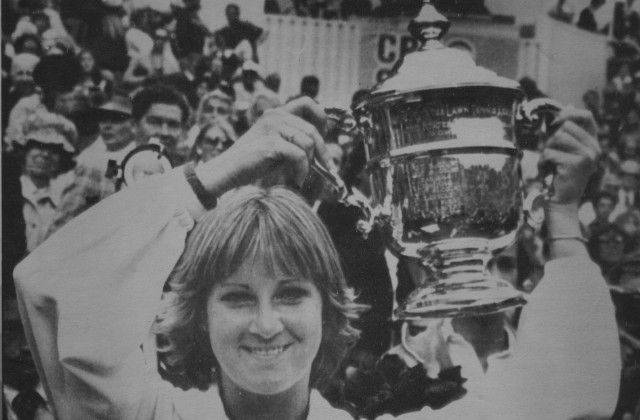 1978 US Open champion Chris Evert