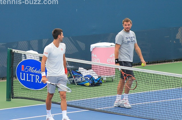 Djokovic and Wawrinka