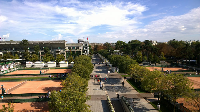 Roland Garros opens its doors