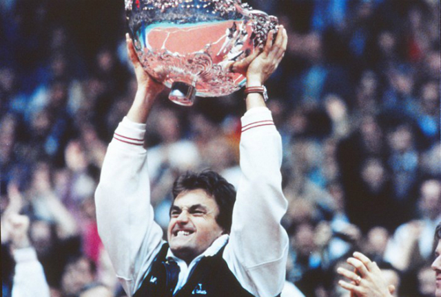 The 1991 Davis Cup final, by Pete Sampras