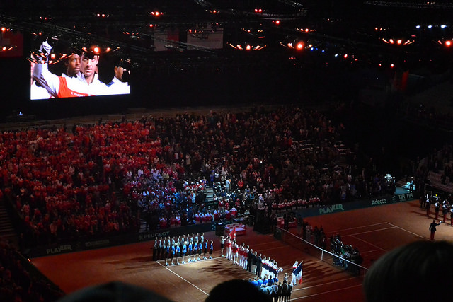 2014 Davis Cup final: teams presentation