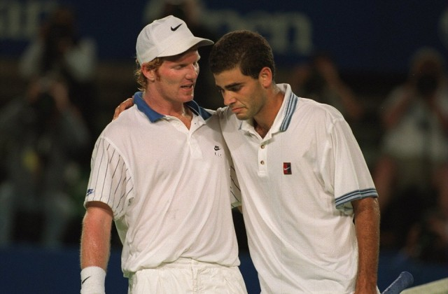Jim Courier and Pete Sampras, Australian Open 1995