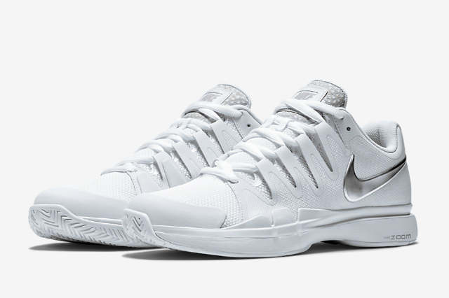 Wimbledon 2015: Roger Federer Nike Zoom Vapor Tour 9.5 Safari shoes