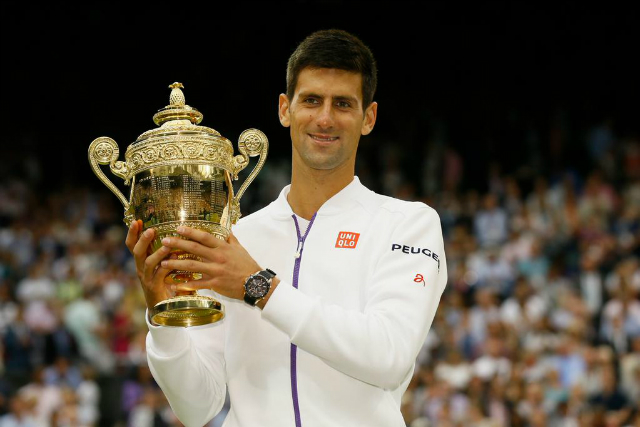 Sponsors celebrate Djokovic Wimbledon success on Twitter