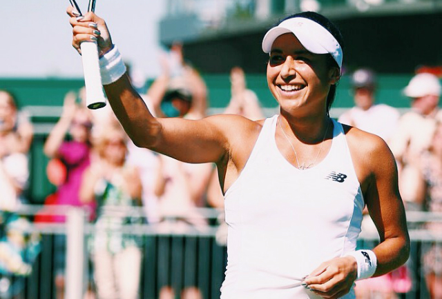 Wimbledon 2015: Heather Watson New Balance outfit