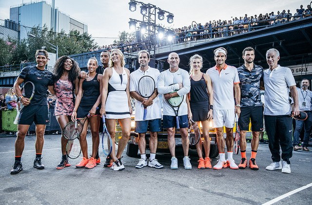 NikeCourt steal the show in New York City