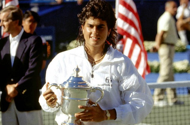 1990 US Open champion Gabriela Sabatini