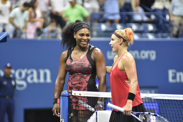2015 US Open R3: Serena defeats Mattek