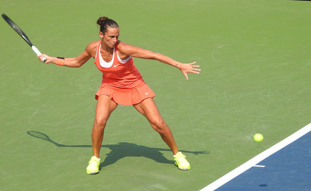 Vinci and Pennetta roads to the 2015 US Open final