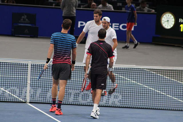 Bercy 2015 day 1: Berdych/Stepanek defeat Martin/Pouille