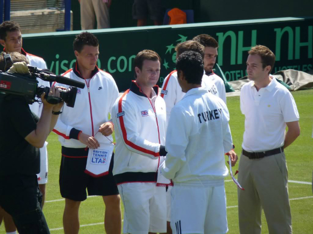 2010: new beginnings for the British Davis Cup team