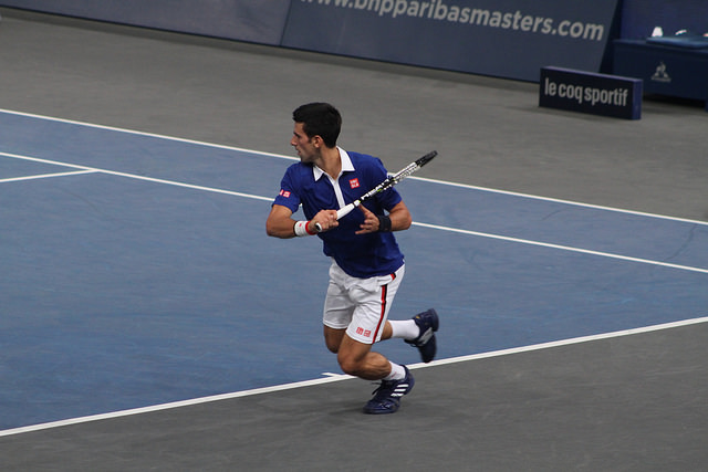 Bercy 2015 day 4: Djokovic defeats Simon