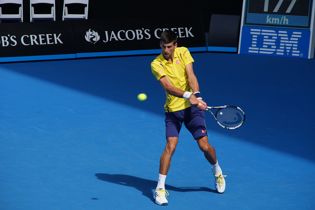 Australian Open 2016 day 1: Djokovic defeats Chung