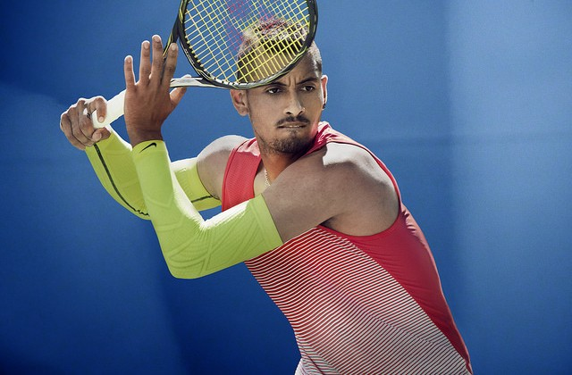 Nick Kyrgios Australian Open outfit