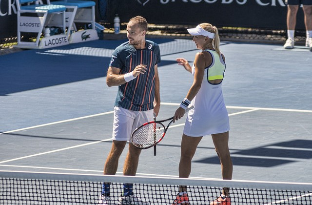 Bruno Soares and ElenaVesnina, Australian Open 2016