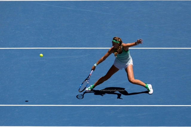 Australian Open day 8: Angelique Kerber and Victoria Azarenka