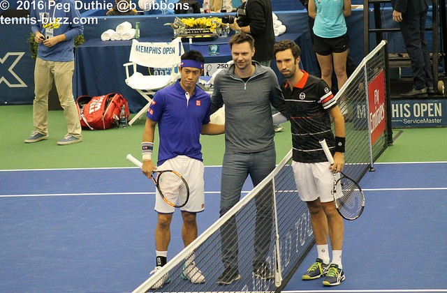 Nishikori, Soderling and Kukushkin, Memphis Open 2016