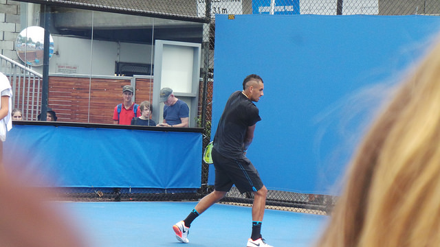 Australian Open 2016: Djokovic, Kyrgios, Tsonga and more at practice