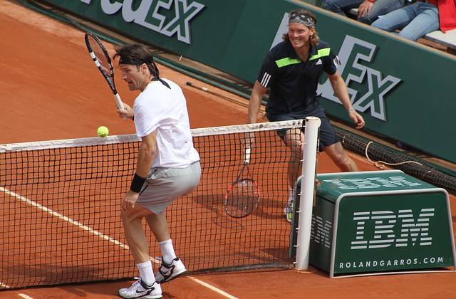 Enqvist and Moya, Roland Garros 2014