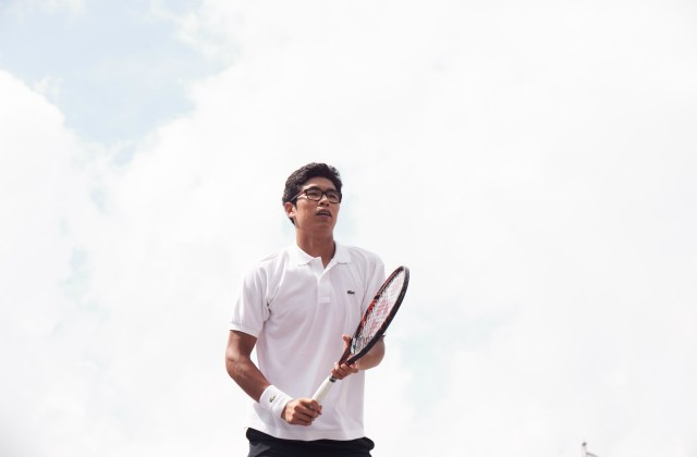 LACOSTE Player Hyeon Chung