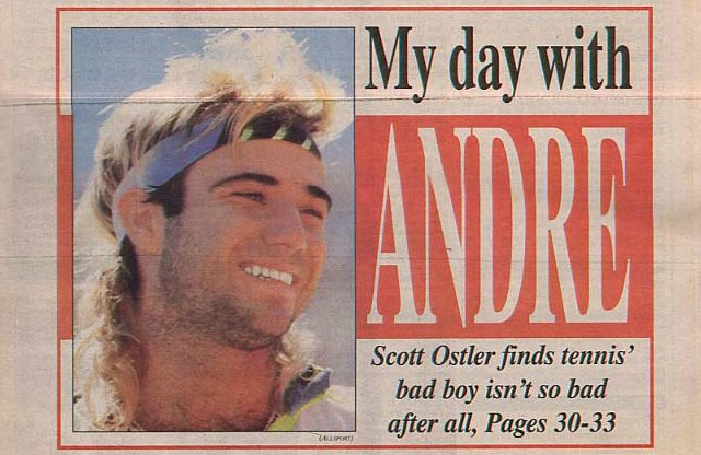 Andre Agassi, 1991