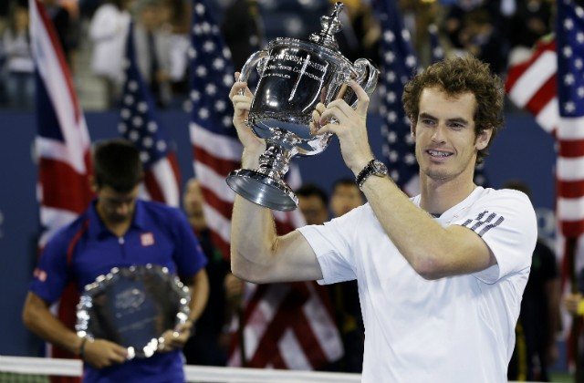 Andy Murray wins the 2012 US Open