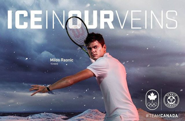 Milos Raonic, Ice in our veins campaign