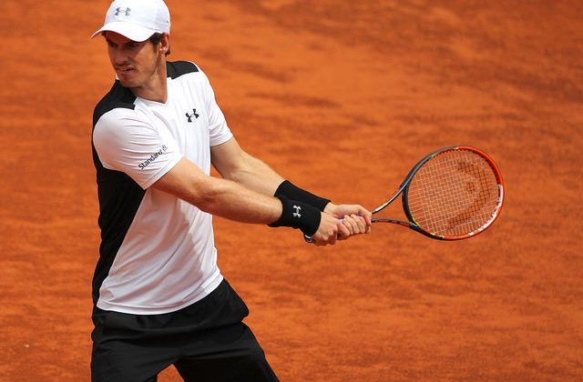 Andy Murray, winner of the Rome Masters 1000