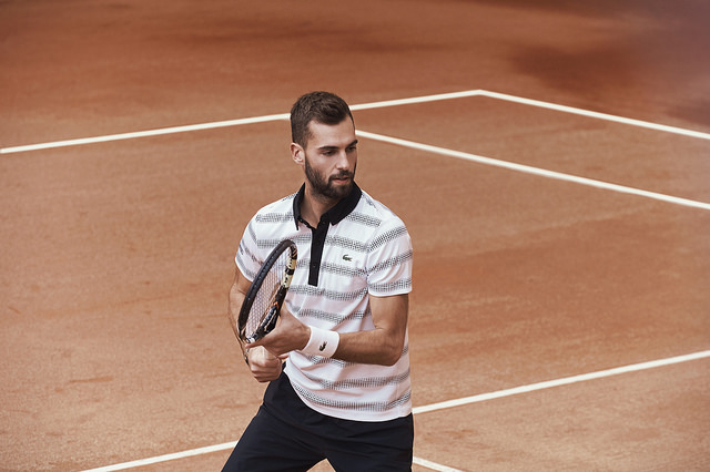 Lacoste players kits for Roland Garros 2016