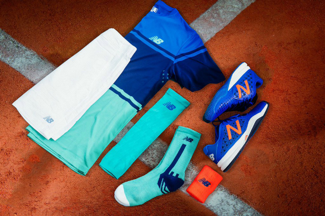 Roland Garros 2016: Milos Raonic New Balance outfit