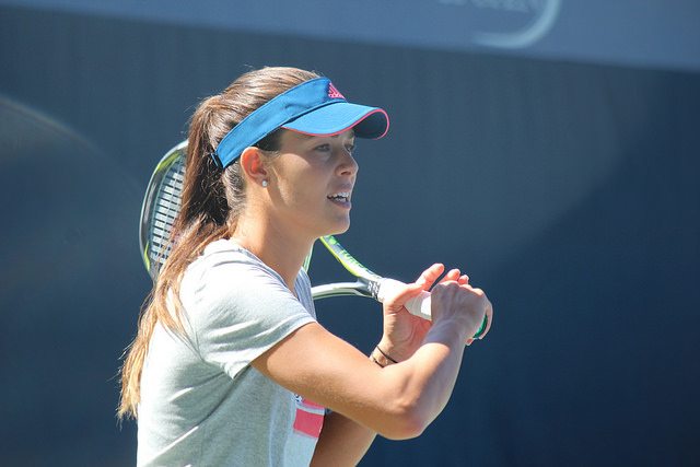 2016 US Open:  Ana Ivanovic at practice