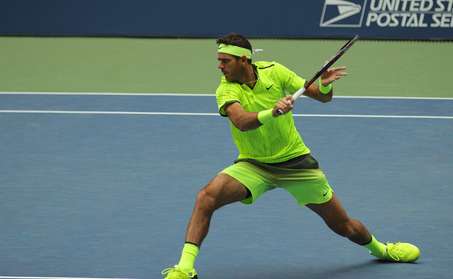 Del Potro advances to the 2016 US Open quarterfinals