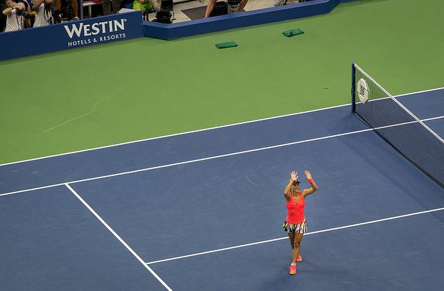 2016 US Open Angie Kerber