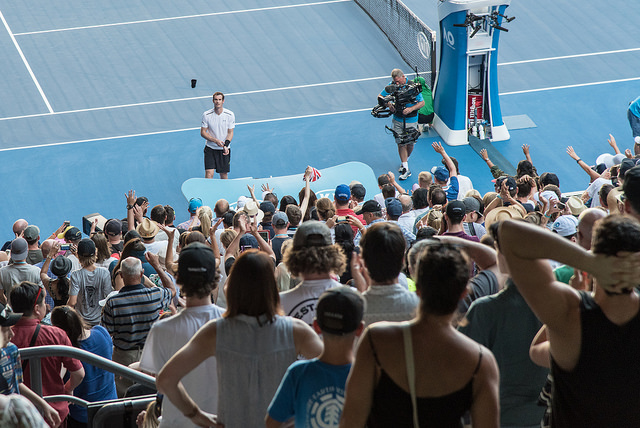 Around the grounds at the Australian Open