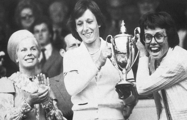 Martina Navratilova and Billie Jean King, Wimbledon 1979