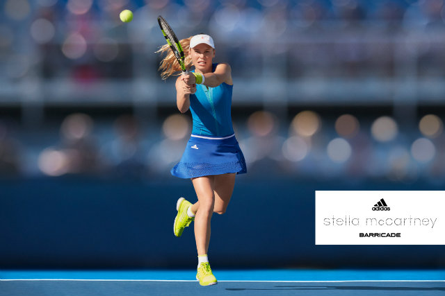 Muguruza and Wozniacki Australian Open 2017 outfits