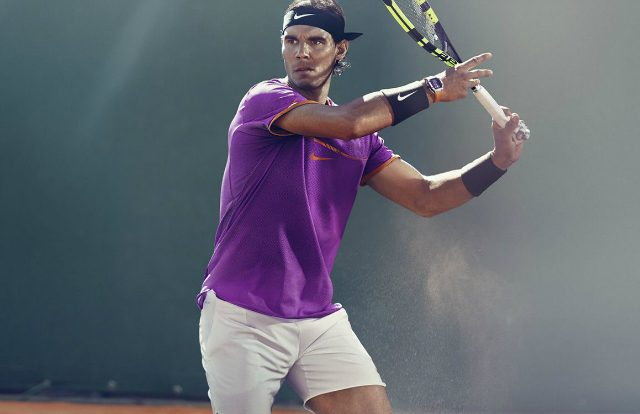 Rafa's outfit the the 2017 clay court season