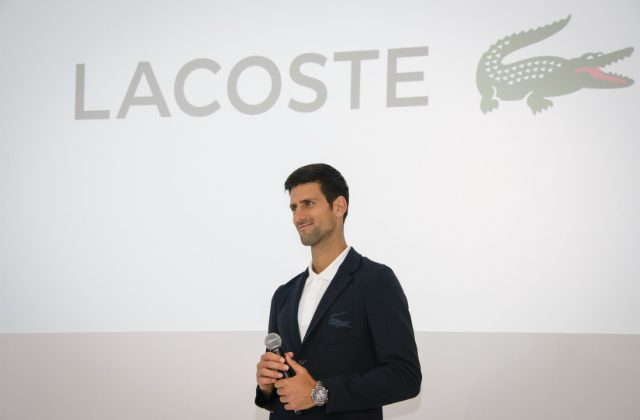Novak Djokovic signs with Lacoste