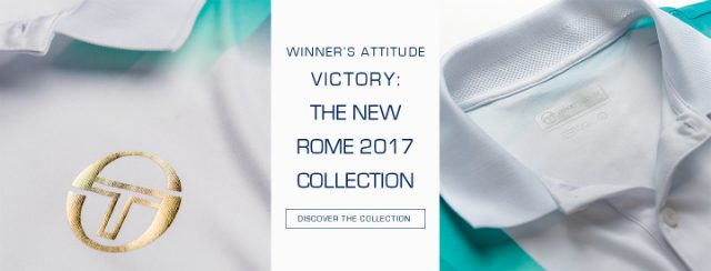 Sergio Tacchini's Rome 2017 collection