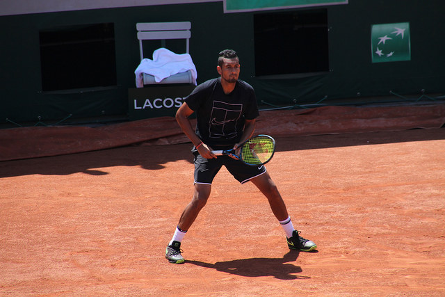 Roland Garros 2017: Kyrgios ousted by Anderson