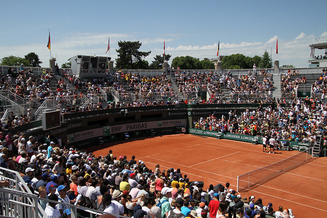A few tips for your day at Roland Garros