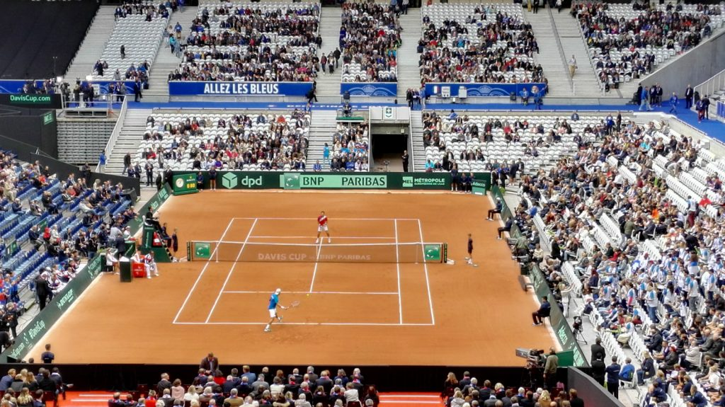 My Davis Cup weekend: France vs Serbia