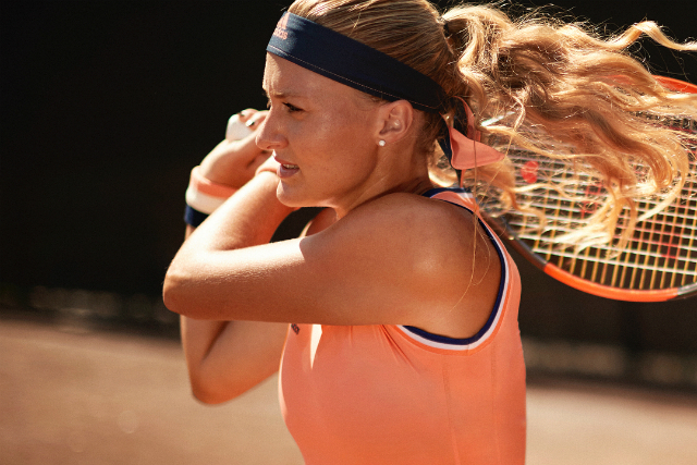Roland Garros 2018: Kristina Mladenovic dress