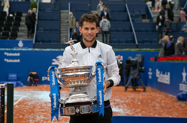 Thiem, winner of the 2019 Barcelona Open